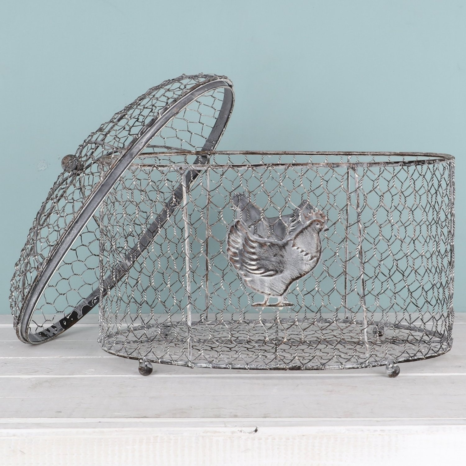 Wire Egg Basket Homeware: Buy Online from Fishpond.co.nz