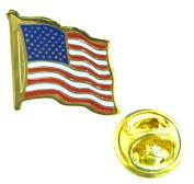 USA / Stars & Stripes Flag Lapel Pin Badge