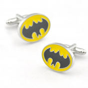 Sirius Jewellery Mens Super Hero Batman Cufflinks