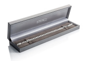 STERLL Bracelet for men made of solid 925 silver, the perfect gift for husband or boyfriend, including gift box