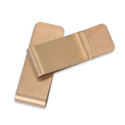 5pcs 20*55mm High Quality Stainless Steel Money Clip Holder Hollow Style Cash Money For Slim Pocket Cash Rectangle