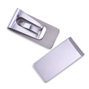 5pcs 26*55*7mm Fashion Metal money clips for men,stainless steel