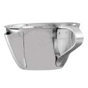 AIHOMETM Stainless Steel Oil Soup Separator Bowl Gravy Oil Fat Separator Pot Multi-use