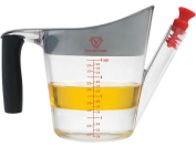 Silicone Bakeware Fat Separator Jug, Clear