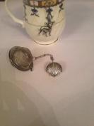 Sea Shell 5.1cm Tea Ball Mesh Infuser Stainless Steel Sphere Strainer G24