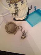 Chamois / Gams 5.1cm Tea Ball Mesh Infuser Stainless Steel Sphere Strainer A52