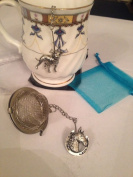 Horse Shoe 5.1cm Tea Ball Mesh Infuser Stainless Steel Sphere Strainer A62