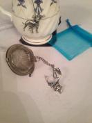 Fallow Deer Head 5.1cm Tea Ball Mesh Infuser Stainless Steel Sphere Strainer A63