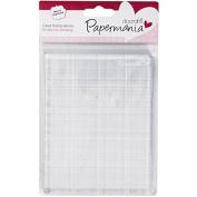 Papermania 10cm x 13cm Stamp Block, Transparent
