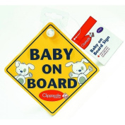 Clippasafe Baby On Board Sign