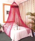 Burgandy Bed Canopy