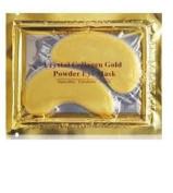 Ardisle 10 x Premium Crystal Collagen Gold Powder Eye Masks Face Pad Anti Ageing Wrinkle