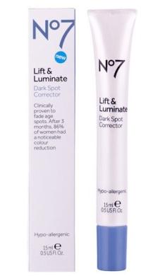 No7 Lift & Luminate Dark Spot Corrector