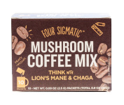 Four Sigma Foods - Mushroom Coffee - Lion`s Mane & Chaga - 10 Sachets