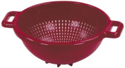 Curver 174561 Colander with Legs-Red Polypropylene 26 x 31 cm x 12 cm