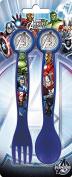 2 Piece Cutlery Set - Avengers
