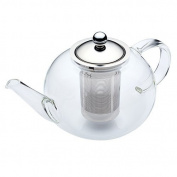 KitchenCraft Le'Xpress 8-Cup Glass Teapot with Infuser, 1.4 Litres
