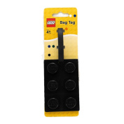 Lego Stationery Lego Brick Luggage Tag Black