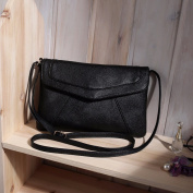 Vintage Women's Messenger Bag - Black