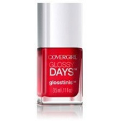 CoverGirl Glossy Days Glosstinis Nail Gloss - 650 Raving Hot