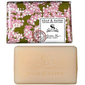 Petite Shea Soap Bar Green Tea 90ml by The Soap & Paper Factory