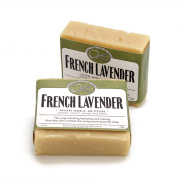 Opas Soap - 100% Natural French Lavender Soap with Shea Butter and Pure Essential Oils