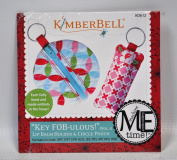 KimberBell Key Fobulous Lip Balm Holder and Circle Pouch CD KD612