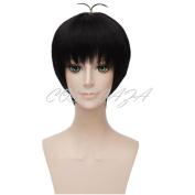 COSPLAZA Osomatsu-San Osomatsu San Black Short Boy Cosplay Wigs