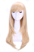 Nouqi® Anime Long Straight Layer Party Hair Cosplay Costume Wigs