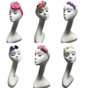 6-piece Baby Girl Headbands Cute Hair flowers Hair bands Handmade Newborn headband