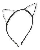 Bari Lynn Cat ears crystallised Black