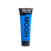 Moon Glow UV Neon Hair Gel Intense Blue 20ml