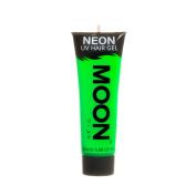 Moon Glow UV Neon Hair Gel Intense Green 20ml