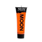 Moon Glow UV Neon Hair Gel Intense Orange 20ml