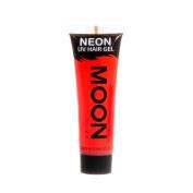 Moon Glow UV Neon Hair Gel Intense Red 20ml