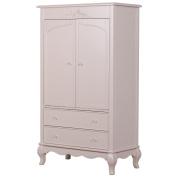 Evolur Aurora Armoire, Blush Pink Pearl