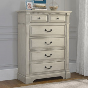 Monbebe Everett 6 Drawer Chest - Antique