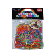 ASAH Scented Loom Bands 300pce with 16 S Clips - Mixed