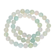 "AAA Natural Grape Green Agate Translucent 10mm Gemstone Round Loose Beads For Jewellery Making 15.5"" (1 strand) GC2-10"
