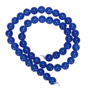 """AAA Natural Blue Agate 10mm Gemstone Round Loose Beads For Jewellery Making 15.5"""" (1 strand) GC4-10"""