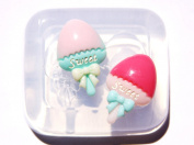 Clear-silicone lollipop flat back mould..Good for pendants,earrings, bracelet, art,craft.Size 27mmx18mm