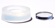 Clear-silicone jewellery 25 mm height 5mm Flat Circle Clear Mould ,Round Mould to make resin earrings, pendants bracelet,.