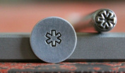 Supply Guy 5mm Medical Symbol Metal Punch Design Stamp B-51