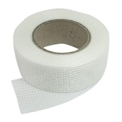 32 Rolls 20m x 5.1cm Self Adhesive Fibreglass Cloth Tape White Mesh for Drywall