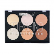 Beauty Treats Strobing Highlighter Palette Light Colours