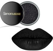 Long Lasting Black Liquid Lipstain & Black Glitter