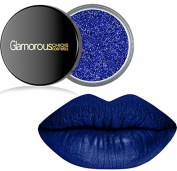 Long Lasting Royal Blue Liquid Lipstain & Caribbean Blue Glitter