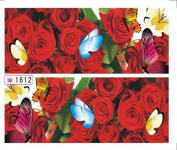 1 Sets Beauty Popular Hots New Nail Art Stickers Multi-Colour Self Adhesive Manicure Tools Pattern Type 1612