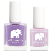 ella+mila Nail Polish, mommy & me® set - Lavender Fields + Isla View