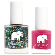 ella+mila Nail Polish, mommy & me® set - Party in a Bottle + Sweet Tart